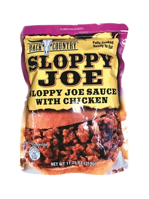 Back Country Sloppy Joe with Chicken, Fully Cooked