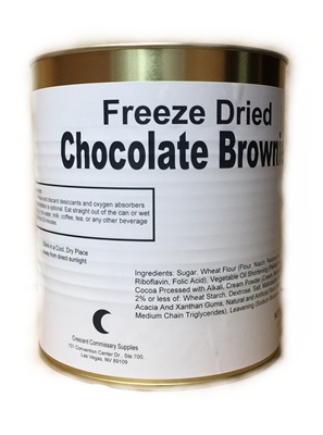 Freeze Dried Chocolate Brownies