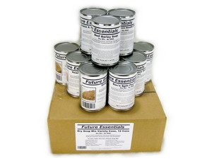 Case (12 Cans) of Future Essentials Canned Soup Variety