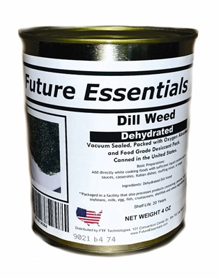 Future Essentials Dehydrated Dill Weed