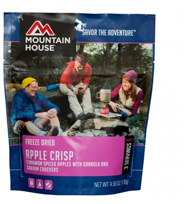 Freeze Dried Apple Crisp by Mountain House, Pouch