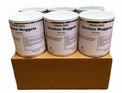 Freeze Dried Fully Cooked Chicken Nuggets