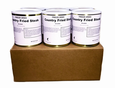 Freeze Dried Country Fried Steak