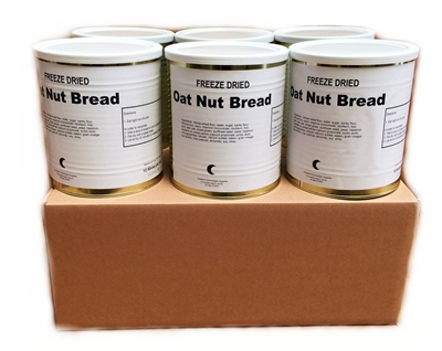 Freeze Dried Oat Nut Bread