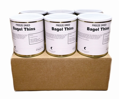 Freeze Dried Military Surplus Bagel Thins