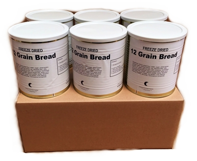 Freeze Dried 12-Grain Bread