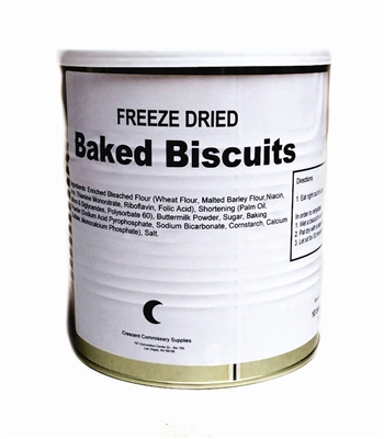 Freeze Dried Baked Biscuits