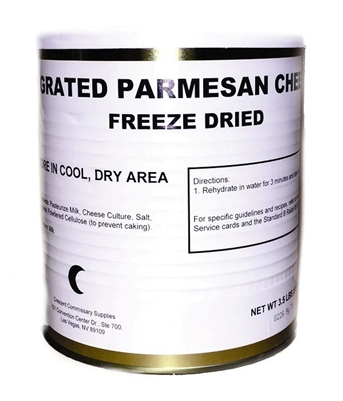 Freeze Dried GRATED Parmesan Cheese