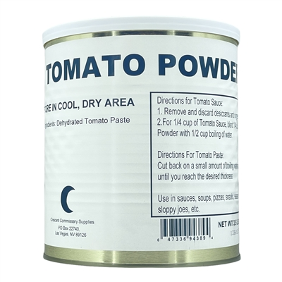 Dehydrated Military Surplus Tomato Powder