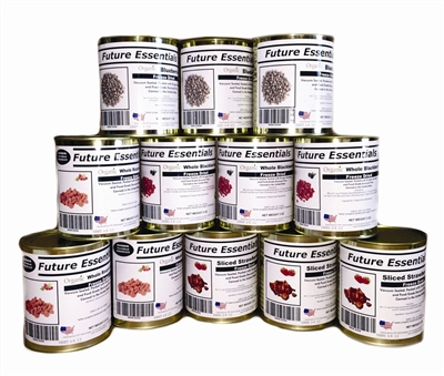 Case (12 Cans) of Future Essentials Freeze Dried Berries Variety