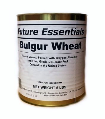 Future Essentials Bulgur Wheat Cereal #10 Can
