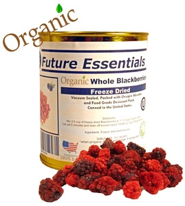 Future Essentials Freeze Dried Whole Blackberries