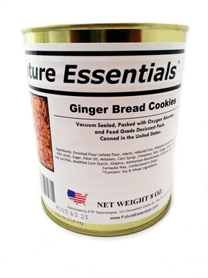 Future Essentials Ginger Bread Cookies